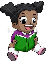 happy black reading book png jpg and vector eps file formats infinitely