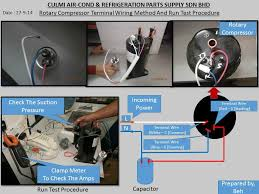 technical sharing subang jaya selangor kuala lumpur kl panasonic rotary compressor terminal wire connection