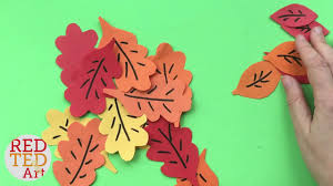 easy autumn paper plate trees guest video by red ted art