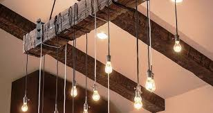 unique lighting ideas. If You Have A Spare Railroad Tie And Antique Lights, Combine Them To Make An Unique Lighting Ideas