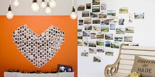 30 New Creative Ways to Display Photos  how to hang frames without nails