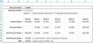 Operating Cash Flow Formula Excel Here Discounted Cash Flow Formula