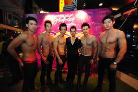 Bangkok gay sex show