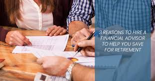 Financial Advisor Retirement Financial Advisor Centerville 3 Reasons To Hire A Financial