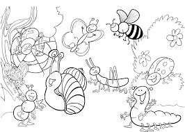 Gratis Kleurplaten Insecten Brekelmansadviesgroep