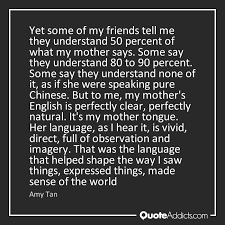 amy tan quotes quote addicts how