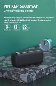 Loa di động bluetooth phiên bản quốc tế công suất lớn 60W, loa kép khuếch  đại âm thanh vượt trội PKCB PF1007 92 - Hàng chính hãng - Loa Bluetooth