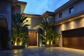exterior outdoor lighting. modern outdoor lighting for dramatic exterior appearance
