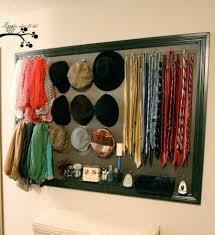 diy closet organizer using molding pegboard fabric and hooks