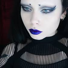 cyber goth makeup tutorial filmed and will be up in the near future more dels on my insram reeree phillips