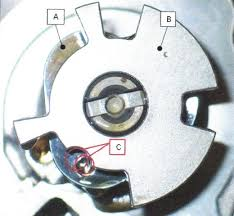 similiar cam angle sensor wheel keywords the high pressure pump cam lobe a camshaft position sensor wheel b