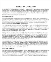 Scholarship Essay Examples Financial Need Scholarships Essays Examples Pohlazeniduse