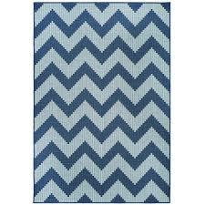 mohawk home tofino chevron aqua 9 ft x 12 ft area rug