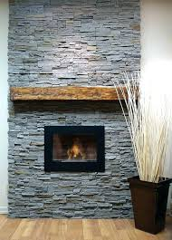 stone veneer over brick fireplace diy cost installing on