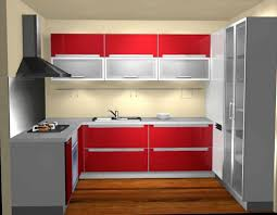 wonderful red and white kitchen cabinets fascinating red and white kitchen set with frosted glass cabinet