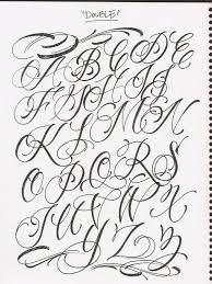 Fonts For Tattoos Tattoo Letter Fonts