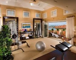 gym furniture. midsized contemporary carpeted and beige floor multiuse home gym idea in orange county with furniture n