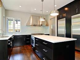 kitchens with white cabinets and dark floors. Backsplash For White Kitchen Cabinets With Black  Appliances Cabinet Dark Floors And Es Good That You Kitchens With White Cabinets And Dark Floors