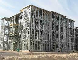 structure métallique et ossature en