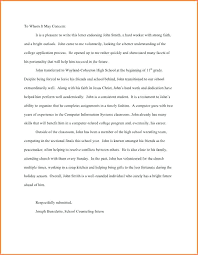 ins letter of recommendation personal letter of reference character recommendation for a friend