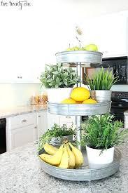 kitchen fruit basket clever ways to get rid of kitchen counter clutter 3 more modern kitchen
