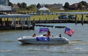 Trump supporters gather for boat parade on the Eastern Shore - Capital  Gazette