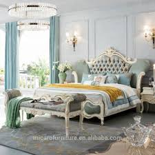 Romantic French Style New Classic New Model King Size Bed White Bedroom Furniture - Buy New Model Bedroom Furniture,King Size Bed Bedroom ...