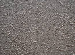 Ceilings are often stippled to create the appearance of texture with the  paint.