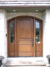 Wooden Front Doors  External Solid Oak U0026 Glazed Exterior Front Solid Wood Contemporary Front Doors Uk