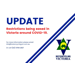 Victoria lgas (now includes transmission sources). Mv Covid 19 Update Motorcycling Victoria