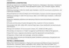 Electronics Engineer Resume Sample Pdf Exclusive Electrical