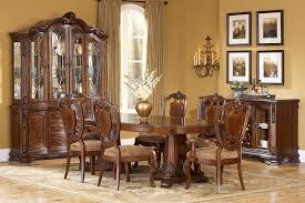 Old World Furniture Design Old World Formal Double Pedestal Table Dining Room