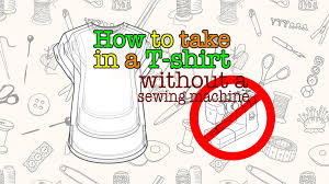 How To Tailor A Shirt Without A Sewing Machine