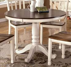 White Distressed Kitchen Table Round White Dining Table 86 With Round White Dining Table Home