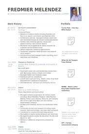Account Coordinator Resume samples