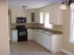 fancy l shaped kitchen designs for small kitchens with black stove and  classic floor
