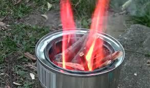 diy wood gas backng stove