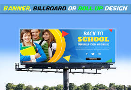 School Billboard Design Design Any Banner Billboard Or Roll Up For 10 Seoclerks