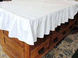 white cotton tablecloth vintage with embroidery 90 inch round