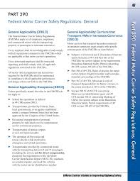 A Motor Fmcsa Guide Pages 51 100 Text Version Fliphtml5
