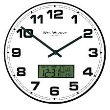 large office wall clocks. Perfect Clocks Office Wall Clocks Large Exciting White Glass  Clock Day Date Calendar   On Large Office Wall Clocks I