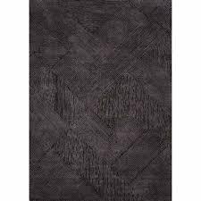 black wool rug rugs hand tufted solid pattern black wool area rug black sheep wool designs