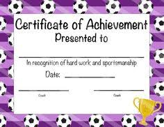 soccer awards templates free soccer certificates 0 00 for the kids pinterest