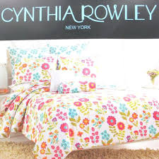 Cynthia Rowley Quilts Home Goods Cynthia Rowley Quilts Tj Maxx ... & Cynthia Rowley Quilts Home Goods Cynthia Rowley Quilts Tj Maxx Cynthia  Rowley Whimsical Floral Queen Quilt Adamdwight.com