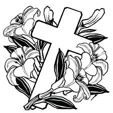 Cross Coloring Pages Free Printable Cross Coloring Pages For Kids
