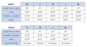 Speedo Swim Parka Youth Size Chart Help Team Aquatic Supplies