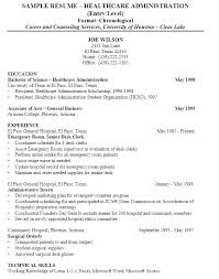 Healthcare Objective For Resume Home Health Care Resume Sample