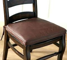 kitchen chair pads with ties images of cushions classic leather dining cushion ch outdoor rocking