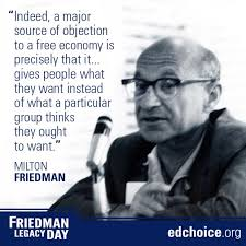 Milton Friedman Quotes Fascinating Getting To Know Milton Friedman EdChoice