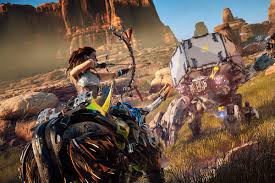 horizon zero dawn file size one horizon zero dawn player is turning the game into artful gifs